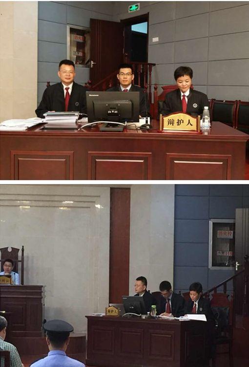 王亚林出庭为一特别重大案件辩护